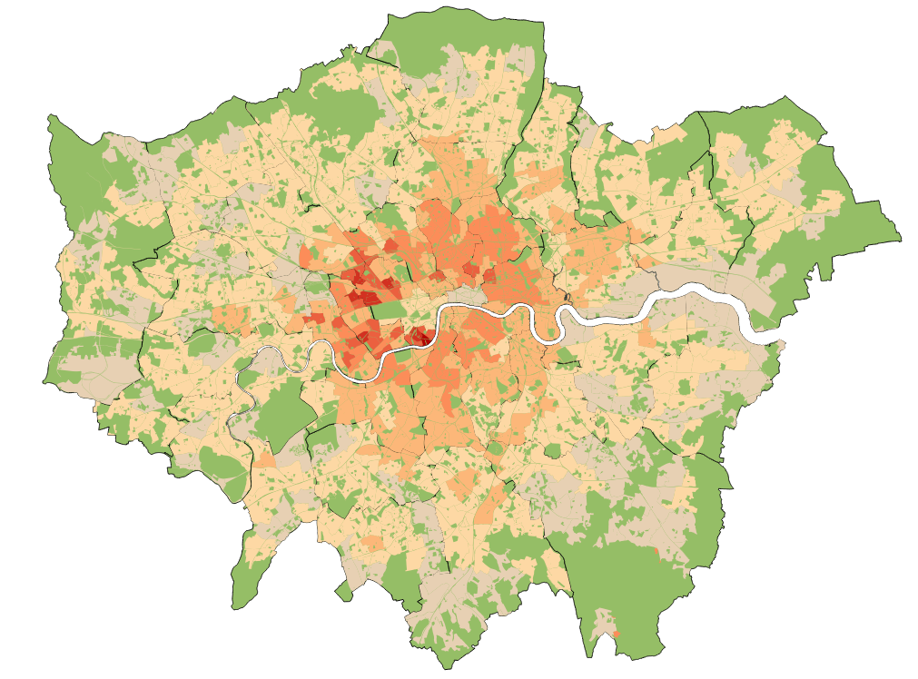 Making parts of London more dense